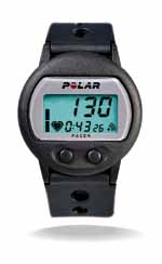 Polar Pacer new heart rate monitor
